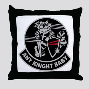 VF-154 Black Knights Throw Pillow