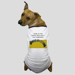 DOMINOES3 Dog T-Shirt