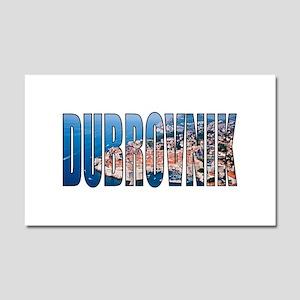 Dubrovnik Car Magnet 20 x 12