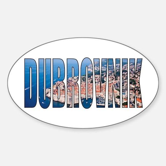 Dubrovnik Decal