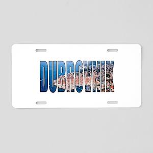 Dubrovnik Aluminum License Plate