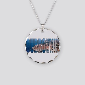 Dubrovnik Necklace Circle Charm