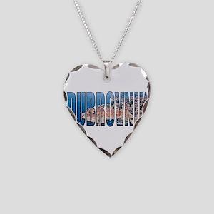 Dubrovnik Necklace Heart Charm