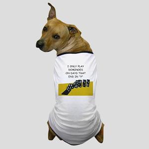 DOMINOES2 Dog T-Shirt