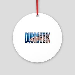 Dubrovnik Round Ornament