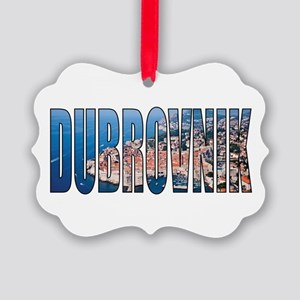 Dubrovnik Picture Ornament