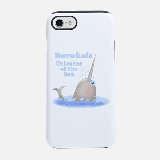 Narwhal Unicorn iPhone 7 Tough Case