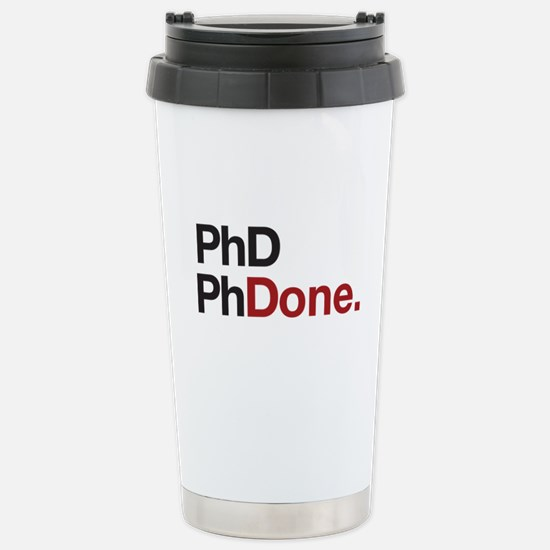 phD PhDone Travel Mug