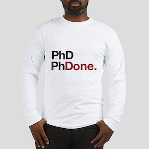 phD PhDone Long Sleeve T-Shirt