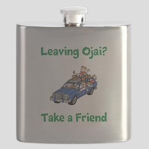 Leaving Ojai Take a Friend Flask
