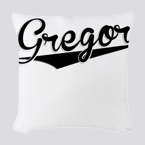 Gregor, Retro, Woven Throw Pillow