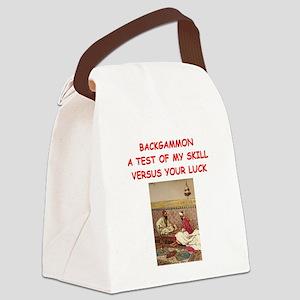 BACKGAMMON3 Canvas Lunch Bag