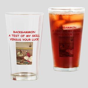 BACKGAMMON3 Drinking Glass