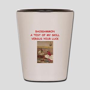 BACKGAMMON3 Shot Glass