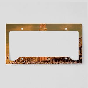 Vintage Venice License Plate Holder