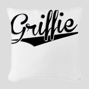 Griffie, Retro, Woven Throw Pillow
