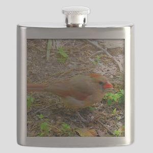 Sweet Cardinal Flask