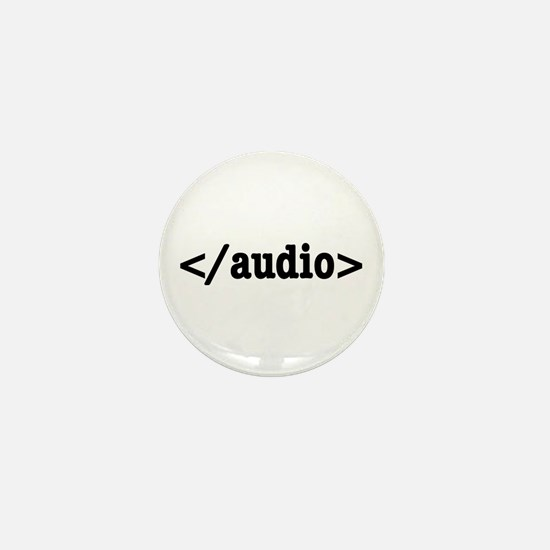 End Audio HTML5 Code Mini Button