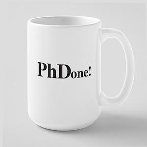 PhD PhDone Mugs