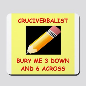 CROSSWORDS7 Mousepad
