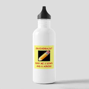 CROSSWORDS7 Water Bottle
