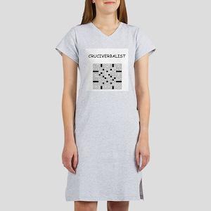 CROSSWORDS5 Women's Nightshirt