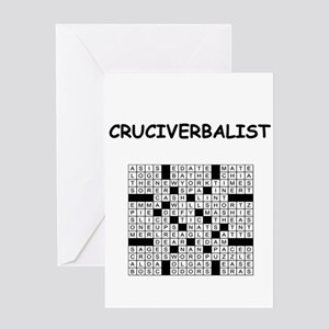 CROSSWORDS5 Greeting Cards