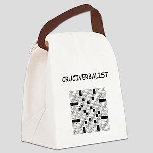 CROSSWORDS5 Canvas Lunch Bag