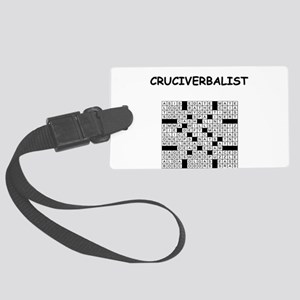 CROSSWORDS5 Luggage Tag