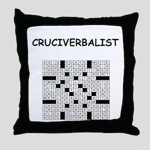 CROSSWORDS5 Throw Pillow