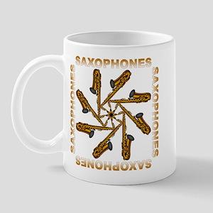 Saxophone Flower Shirts and G Mug