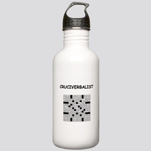 CROSSWORDS5 Water Bottle
