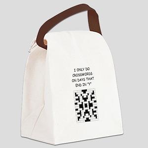 CROSSWORDS2 Canvas Lunch Bag