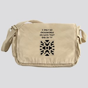 CROSSWORDS2 Messenger Bag