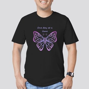 One Day at a Time Quote Butterfly Art T-Shirt
