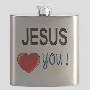 Jesus loves you Flask