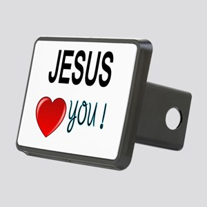 Jesus loves you Hitch Cover
