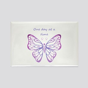 One Day At A Time Magnets Cafepress