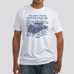 Truckers Prayer Fitted T-Shirt