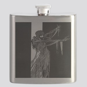 Fall of the House of Usher Flask