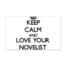 Keep Calm and Love your Novelist Wall Decal