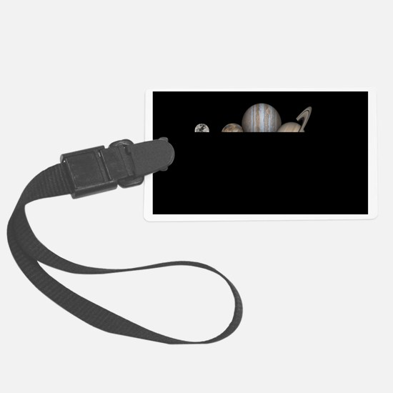 Planets of Our Solar System Luggage Tag