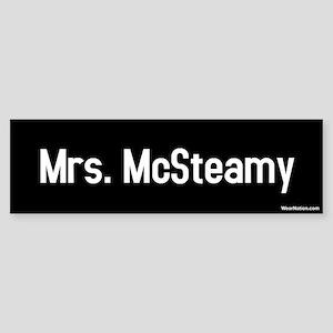 Mrs. McSteamy Bumper Sticker