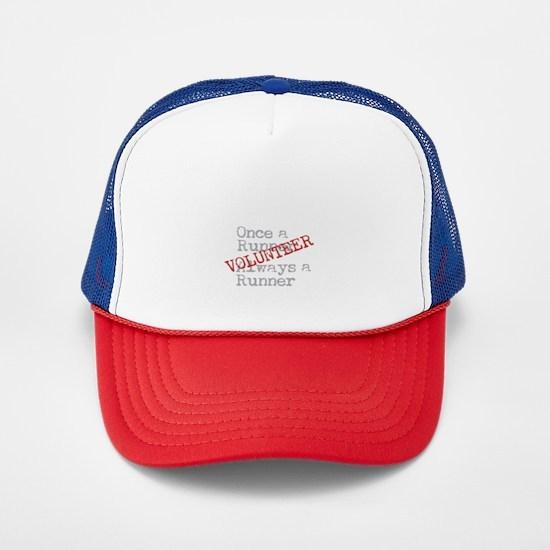 Funny Former Runner Volunteer Trucker Hat