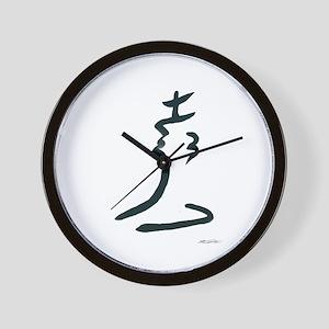 Abstract Chess Logo Wall Clock