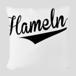 Hameln, Retro, Woven Throw Pillow