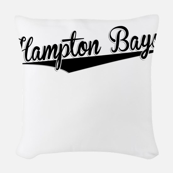 Hampton Bays, Retro, Woven Throw Pillow