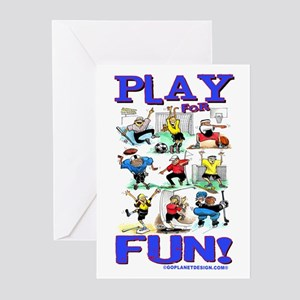 Play For FUN! Great Game! Cards (Pack of 6)