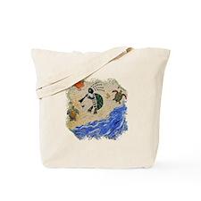 Kokopelli Turtle Tote Bag