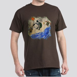 Kokopelli Turtle Dark T-Shirt